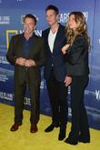 Arnold Schwarzenegger, Tom Brady and Gisele Bundchen