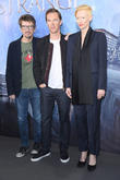 Scott Derrickson, Tilda Swinton and Benedict Cumberbatch