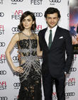 Alden Ehrenreich and Lily Collins