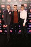 Graham Norton, Gary Barlow and Mel Giedroyc