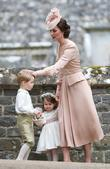 Catherine Middleton, Duchess Of Cambridge, Prince George and Princess Charlotte