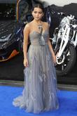 Transformers and Isabela Moner at Leicester Square
