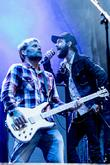 Band Of Horses, Ben Bridwell and Matt Gentling at Slottsskogen and Way Out West Festival